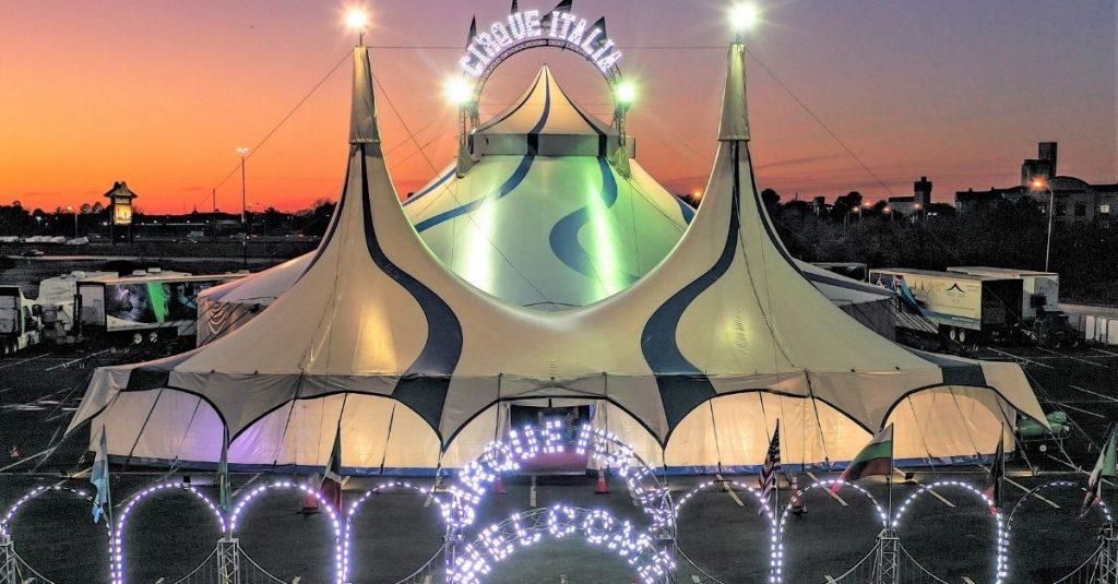 Cirque Italia, el primer circo acuático italiano itinerante, llega a Orange Park