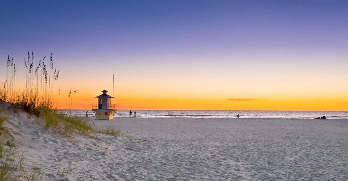 El encanto de St. Pete Beach, Florida