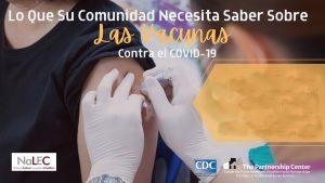 NaLEC lanza campaña informativa sobre vacunas COVID-19