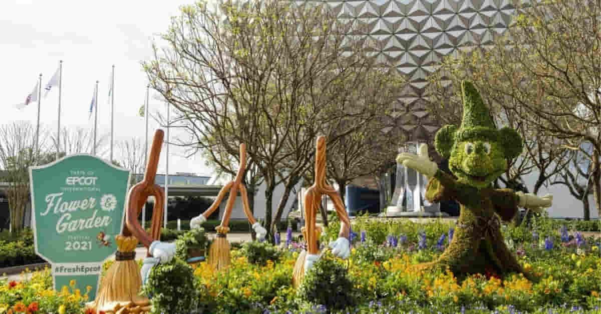 EPCOT florece con festival internacional de sabores y jardines