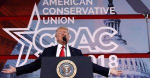 Ron DeSantis es superado por Trump en la encuesta de CPAC