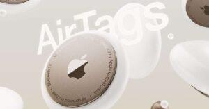 """Apple estrena extensión de """"buscar"""" con las AirTag"""