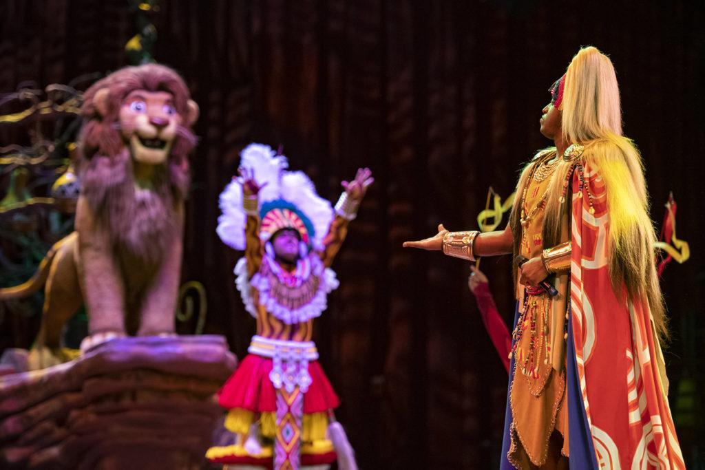 El espectáculo en vivo del Rey León regresa a Disney's Animal Kingdom