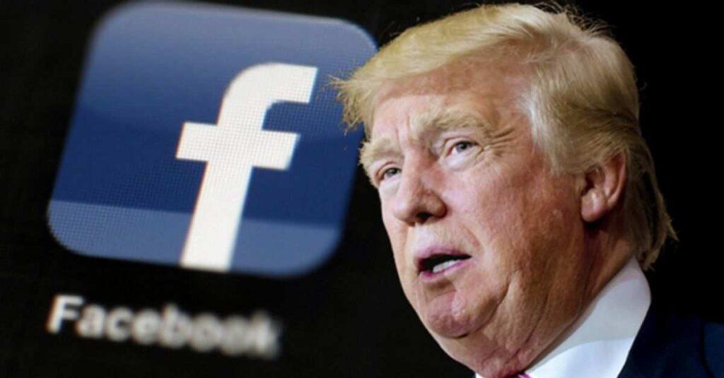 Consejo de Facebook decidirá si se cancela el veto al expresidente Donald Trump