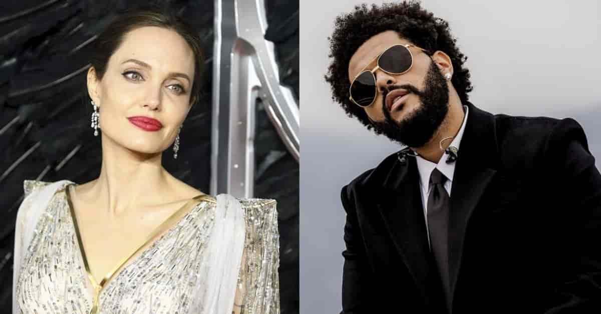Angelina Jolie y The Weeknd, ¿cenando juntos?
