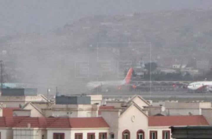 Atentados en el aeropuerto de Kabul estadounidenses entre las víctimas