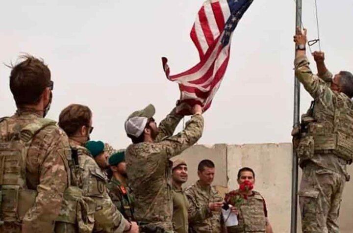 Militarizada de Estados Unidos se retiró de Afganistán