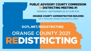 Comité asesor para delinear distritos en el condado de Orange se reune por primera vez