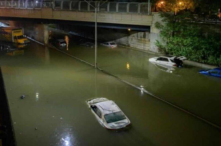 Estado de emergencia en Nueva York y Nueva Jersey por tormenta Ida